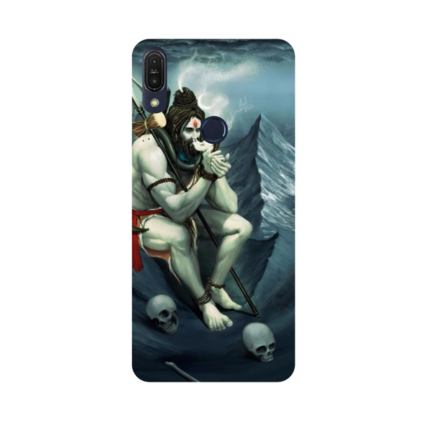 Shiva Abode-Printed Hard Back Case Cover For Zenfone Max Pro M1