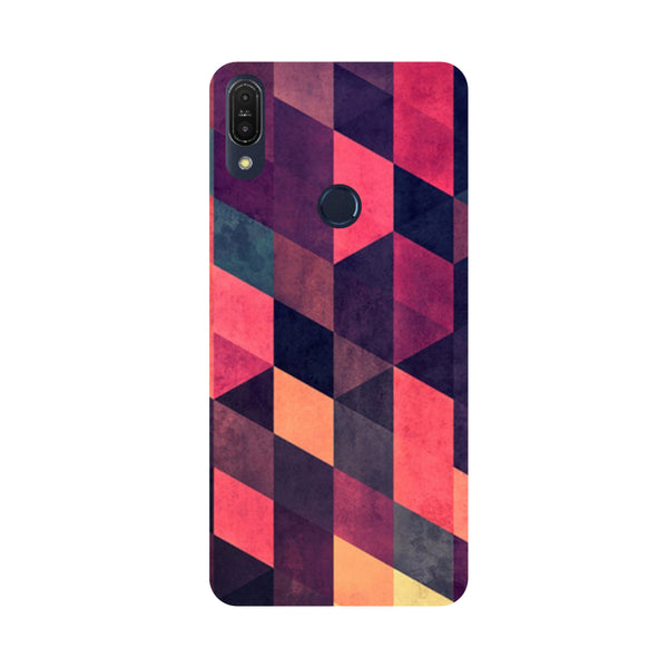 Pink Abstract-Printed Hard Back Case Cover For Zenfone Max Pro M1
