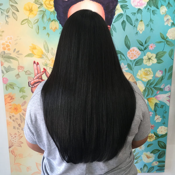 "#1- 20"" Clip-In Hair Extensions"