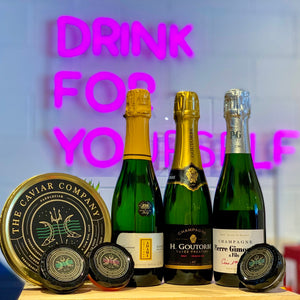 Champagne & Caviar Dreams Virtual Tasting Kit