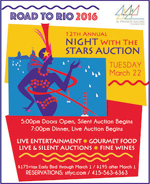 Road to Rio Auction at The St. Francis Yacht Club
