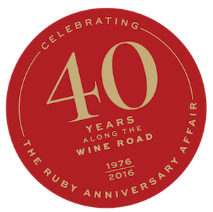 Celebrating 40 Years of Wine Road; A Ruby Affair Gala