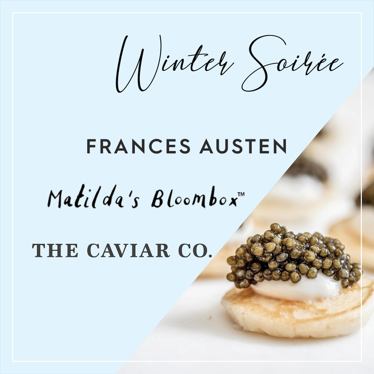 Winter Soirée at The Caviar Co.