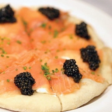 <em>Wolfgang Puck's</em> <br> Smoked Salmon Pizza