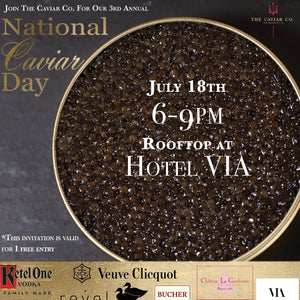 3rd Annual National Caviar Day