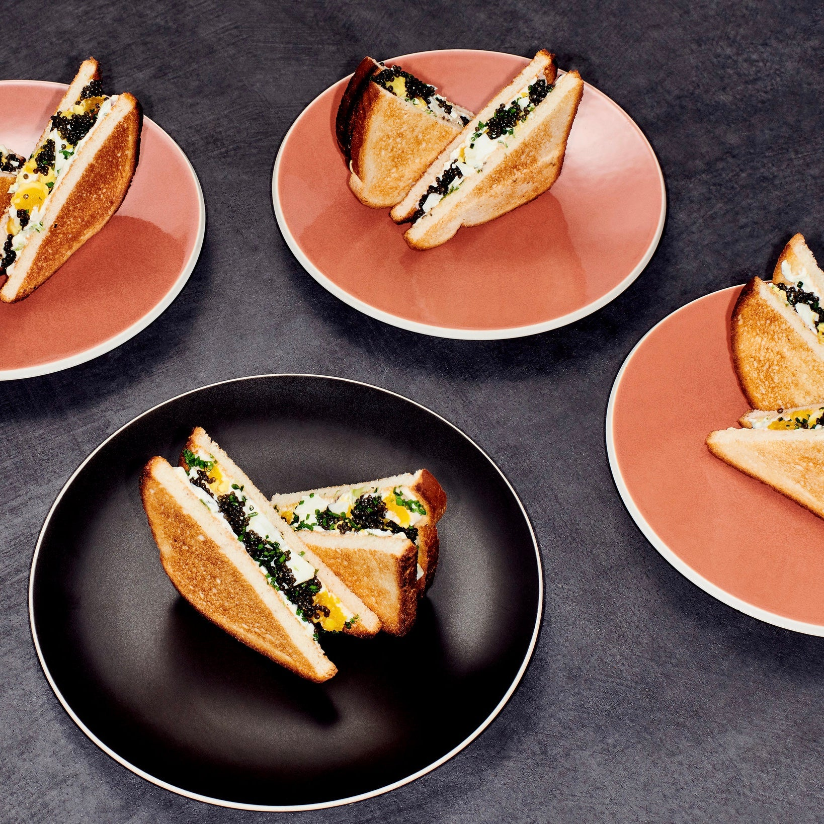 New York Times Cooking: Caviar Sandwich