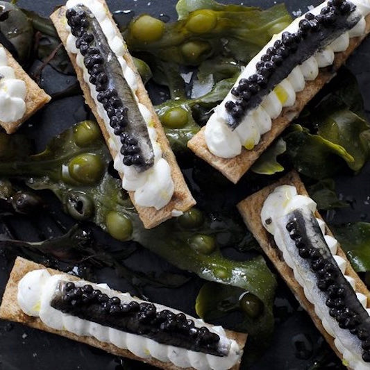 Great British Chefs: Anchovy and Caviar Toast
