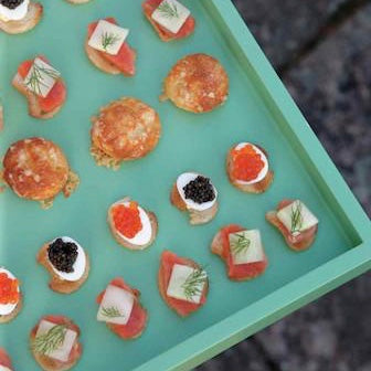 <em>Martha Stewart's</em> Deviled Quail Eggs and Caviar
