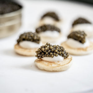 Caviar 201 Tasting Flight
