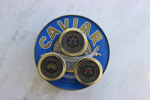 Virtual Caviar Tasting with Acquerello