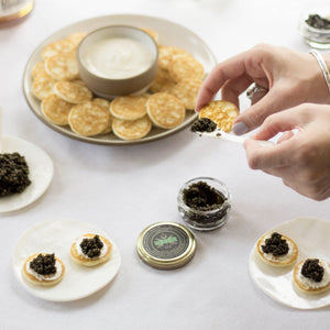Virtual Caviar Tasting with SingleThread