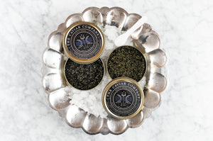 Virtual Caviar Tasting with Tayson Pierce