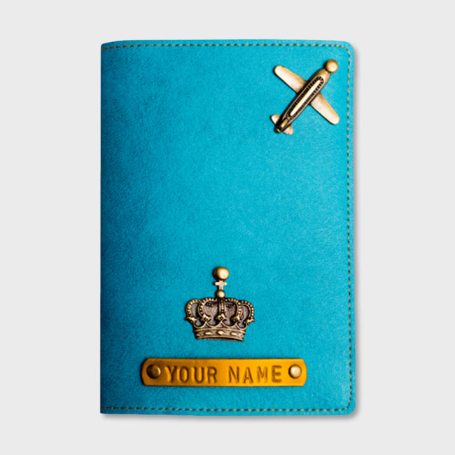Sky Blue Passport Cover
