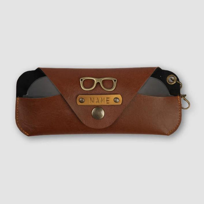 Light Brown Eyewear Case