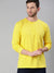 Lemon Yellow Full Sleeves Henley T-Shirt