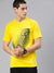 Meshes Half Sleeve T-Shirt For Men
