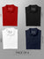Men's Premium Polo T-Shirts (Pack of 4) - Black, White, Navy Blue & Red