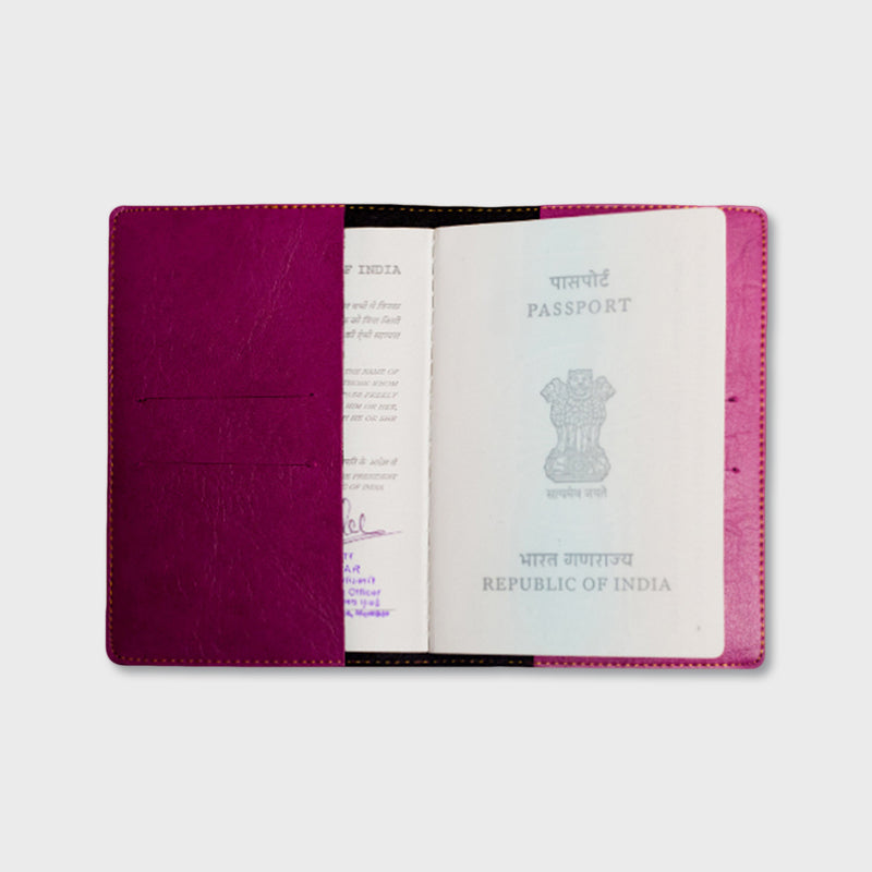 Purple Passport Cover