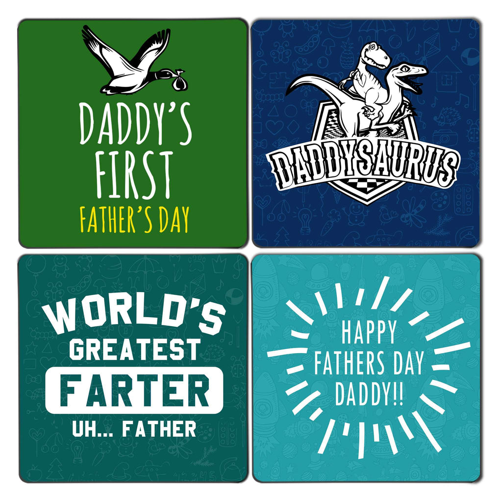 Father's Day Coaster Set