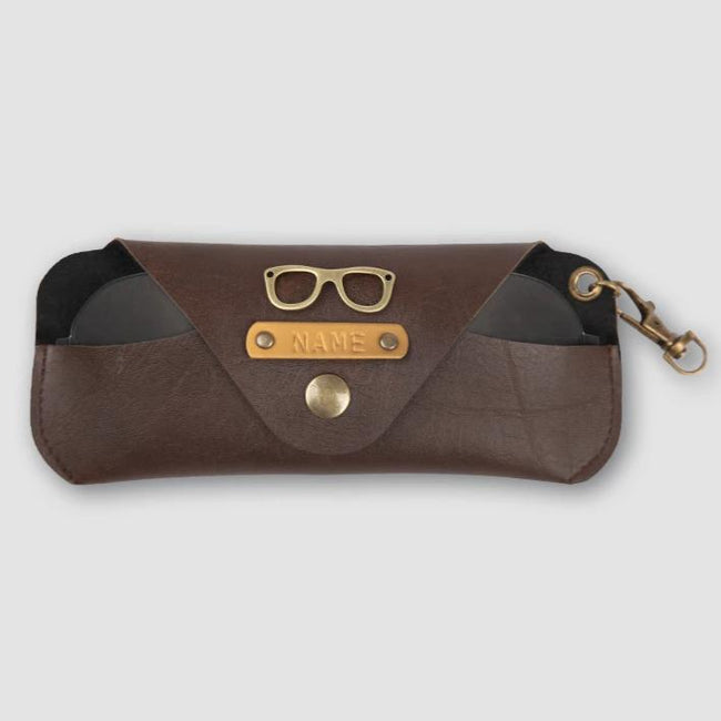 Dark Brown Eyewear Case