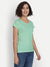 Mint Green Round Neck Top