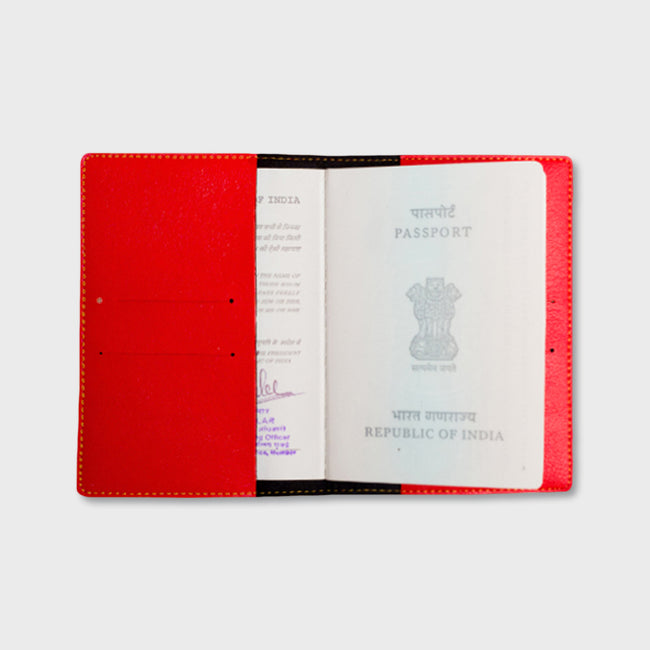 Red Passport Cover
