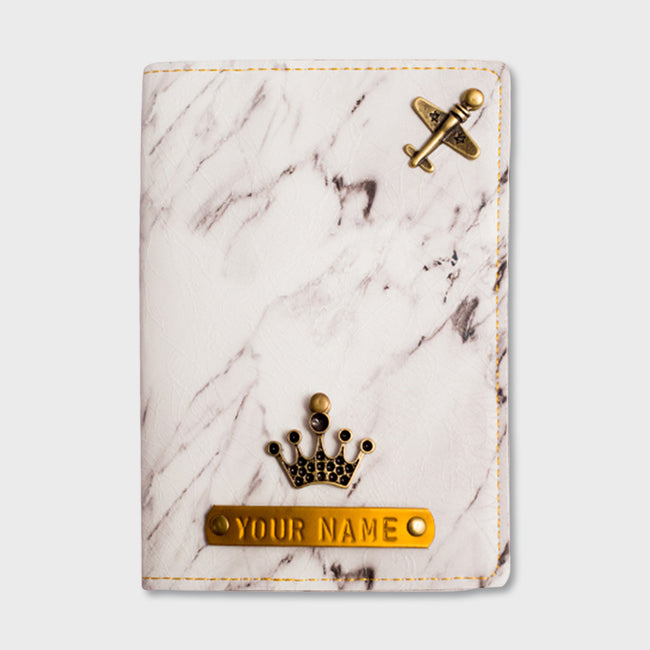 Marble Print Passport Cover