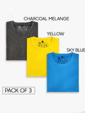 Make Your Own Combo Half Sleeves T-Shirt (Pack of 3)