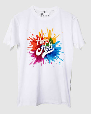Happy Holi Splash T-Shirt