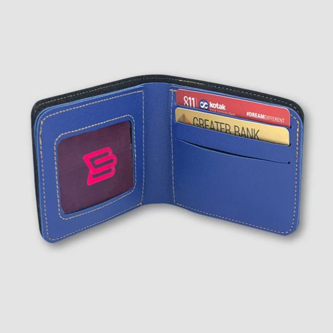 Blue Men Wallet
