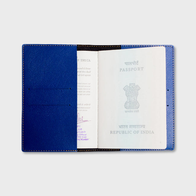 Blue Passport Cover
