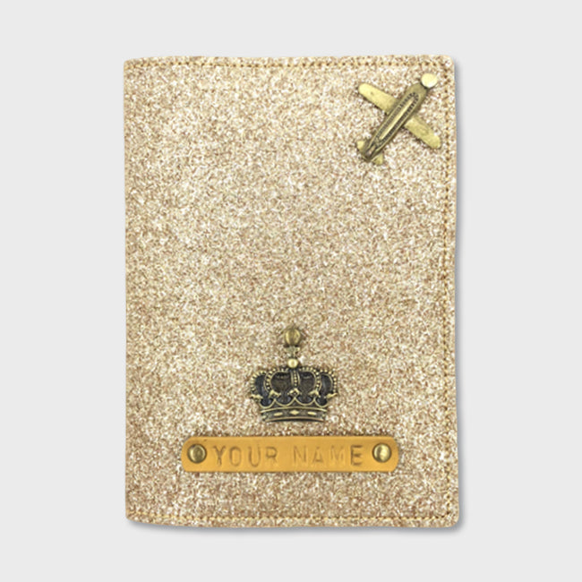 Dark Gold Passport Cover