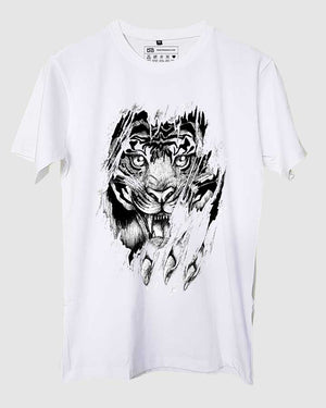 Abstract Tiger T-Shirt