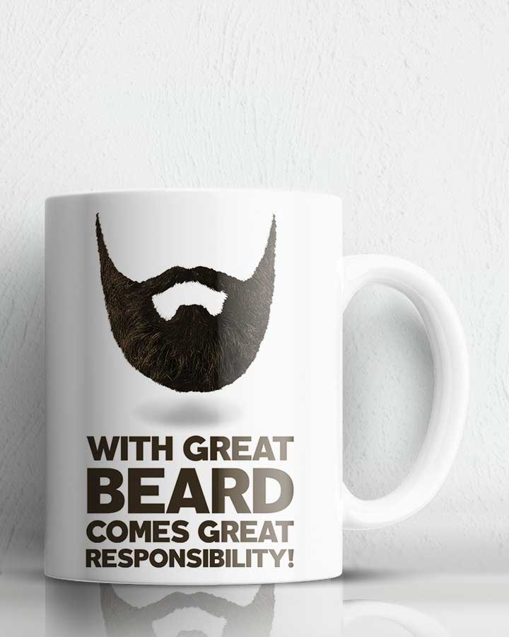 Beard Responsibility Coffee Mug