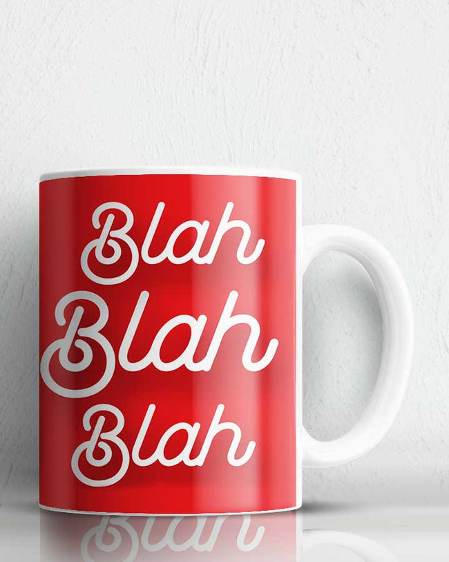 Blah  Coffee Mug
