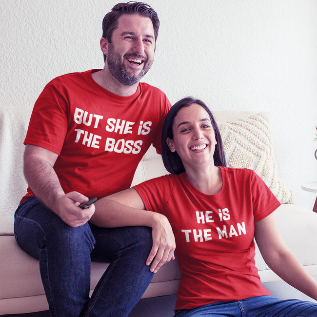 Boss Man Couple Tee