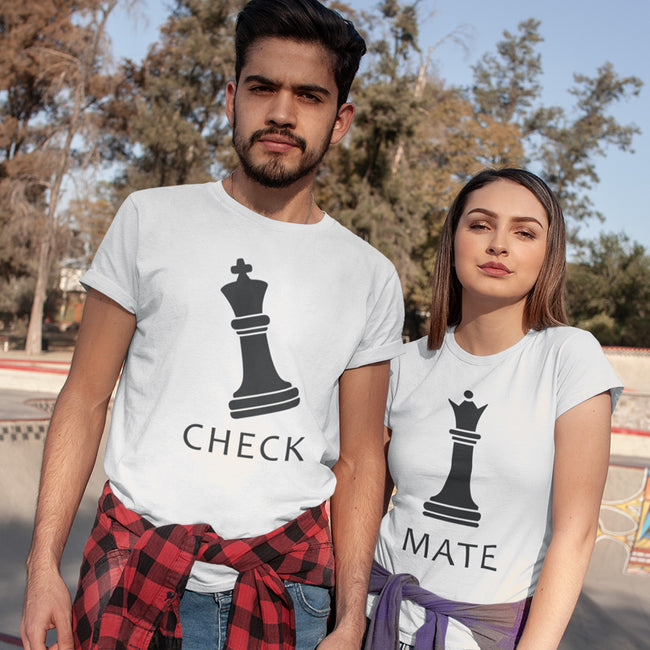 Check Mate Couple Tee
