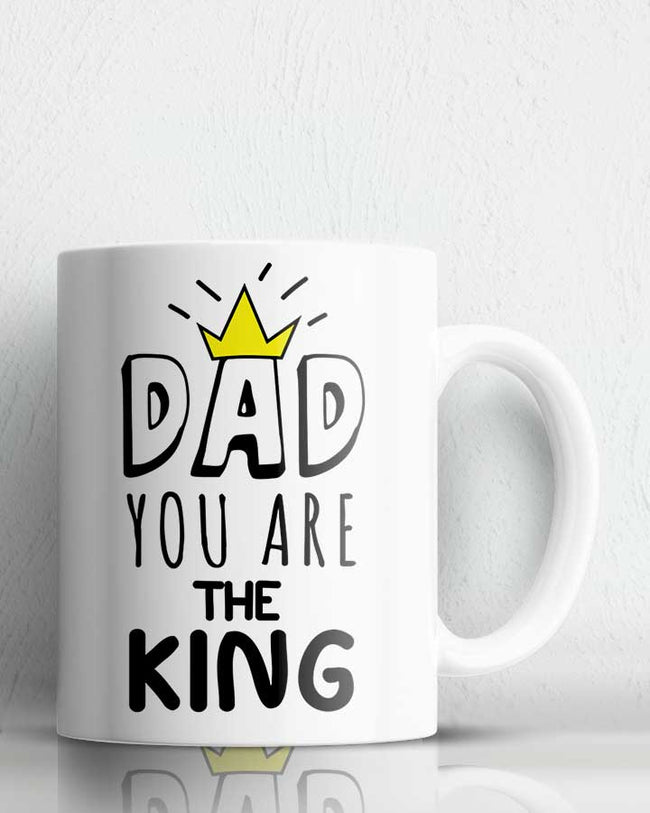 Dad The King Coffee Mug