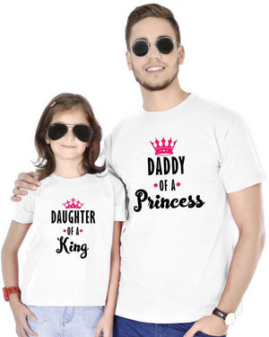 a5573a4be Buy Dad & Daughter Matching T-Shirts - Father & Daughter Tees Online