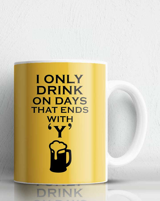 Drink Coffee Mug