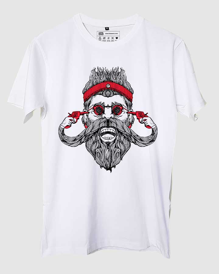 Guns and Beard T-Shirt