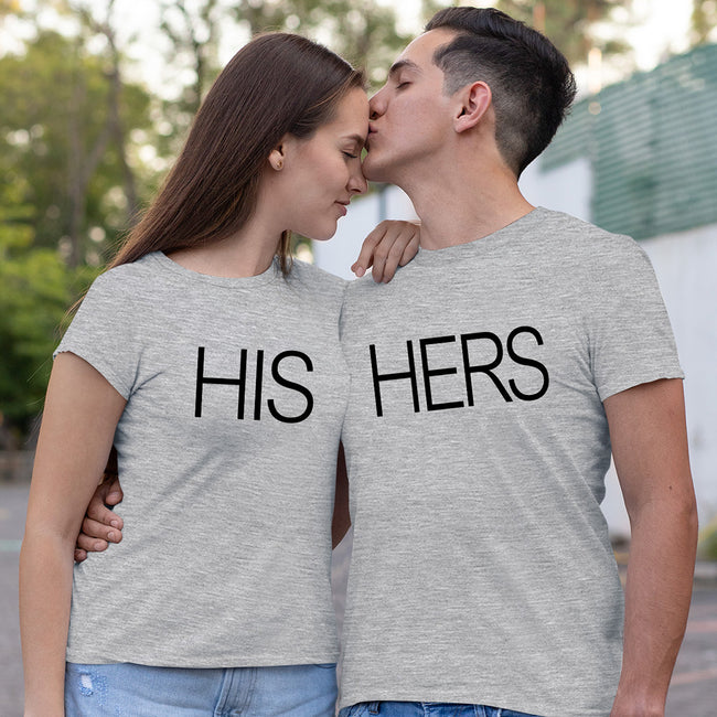 His & Her Couple Tee