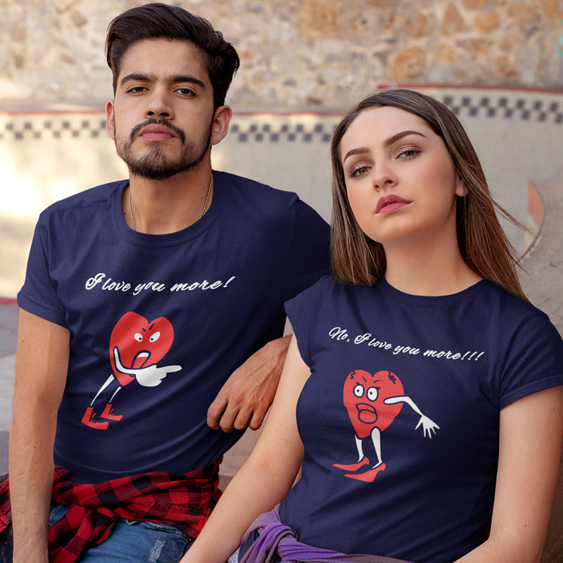 I Love You More Couple Tee