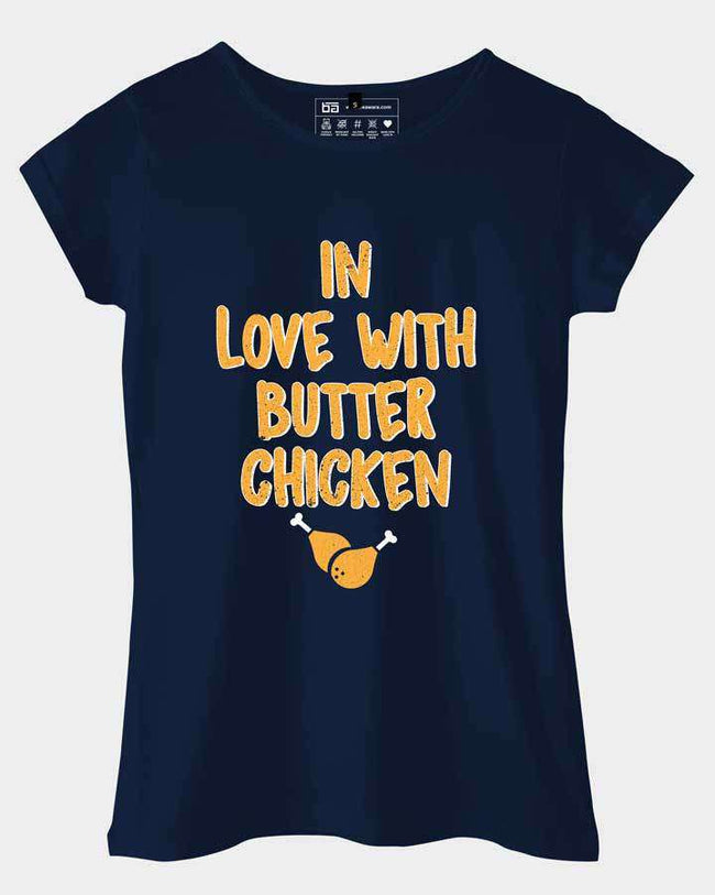 In Love With Butter Chicken Top