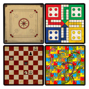 Board Game Coaster Set