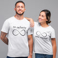Infinity And Beyond Couple Tee