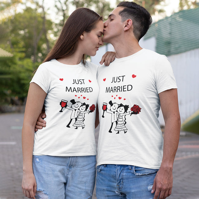 Just Married Couple Tee