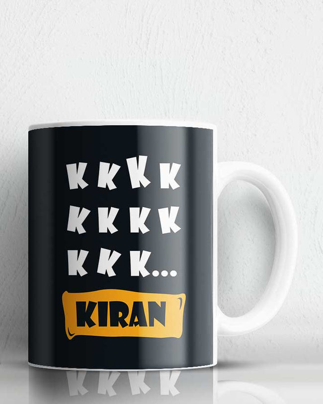 K For Kiran  Coffee Mug