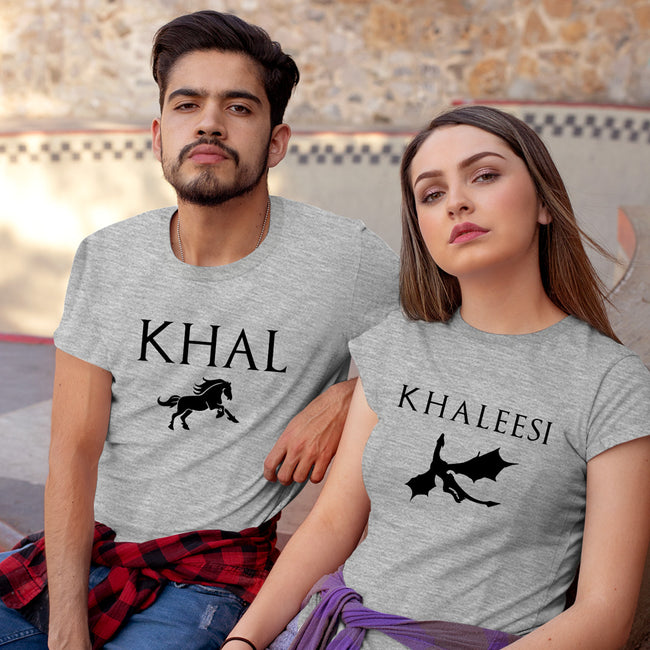 Khal Khaleesi Couple Tee