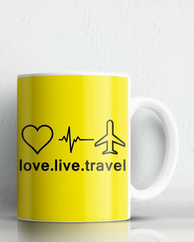 Love Live Travel Coffee Mug